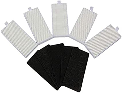 CRISTY -Vacuum Cleaner Parts - Robot Vacuum Cleaner Filter HEPA Filter Sponge for Coredy R500 Robotic Vacuum Cleaner Filter Parts Accessories (as photo shown)