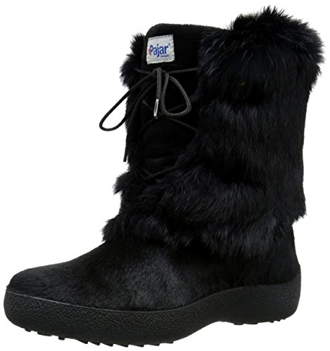 Pajar Womens Livia Boot Black Rabbit