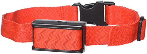 Petiner Electronic No Bark Control Dog Training Collar with Adjustable Sensitivity Control-Red