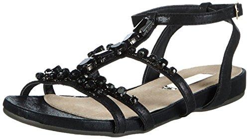 XTI Sandalia Sra. Metalizado Oro - Sandalias Para Mujer NEGRO