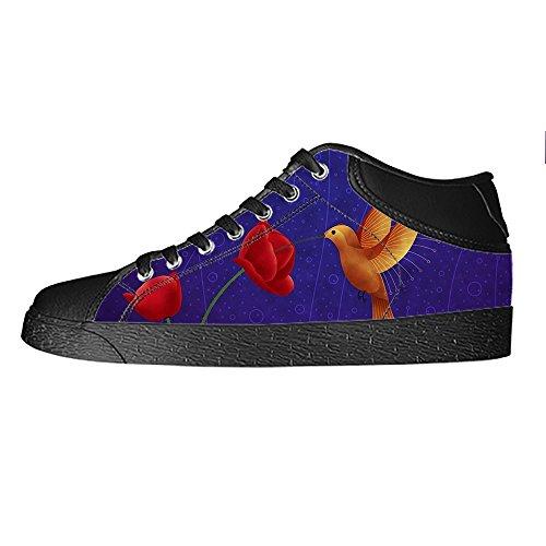 Aclaramiento De Explorar Custom Hummingbird Mens Canvas shoes I lacci delle scarpe in Alto sopra le scarpe da ginnastica di scarpe scarpe di Tela. Comprar Precios Baratos eDoIVDBPM