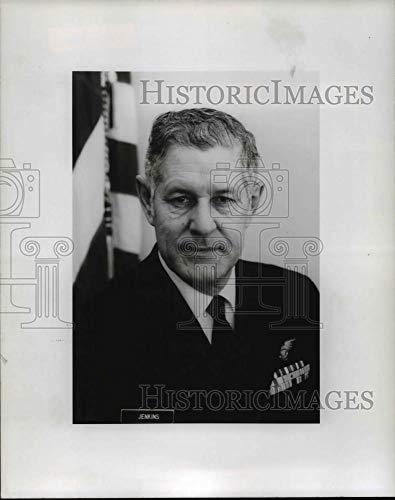 Historic Images - 1972 Vintage Press Photo Rear Admiral William A. Jenkins, Commander, Ninth Coast Guard.