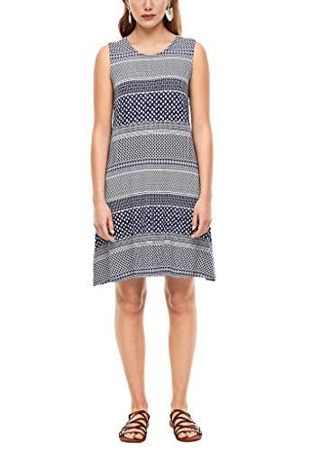 s.Oliver RED Label Damen Kleid mit Rückenausschnitt