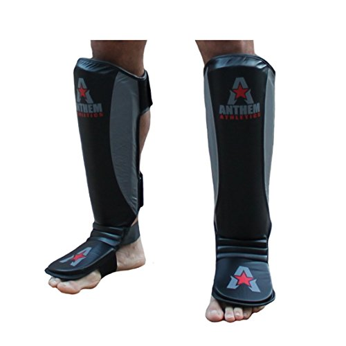NEW! Anthem Athletics FORTITUDE 2.0 Shin Guards - Kickboxing, Muay Thai, MMA