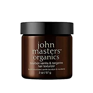 Bourbon Vanilla & Tangerine Hair Texturizer - All Natural Styling Product for Men & Women, Moisturize, Add Shine, & Texture - Extra Strong Hold - 2 oz