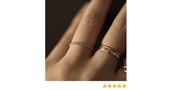 strongly structured ring XL with gold ball