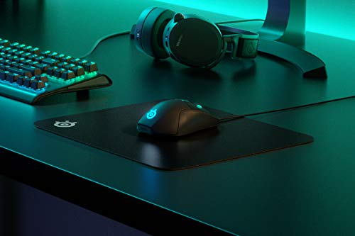 SteelSeries QcK Gaming Surface - Medium Hard - Minimal Friction - Pinpoint Accuracy