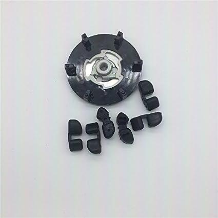 Venta caliente AC Compresor Polea del embrague Hub barato Auto Compresor embrague Hub para todos los