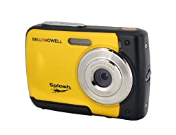 Bell+Howell Splash WP10-Y 16.0 Megapixel Waterproof Digital Camera with 2.4-Inch LCD & HD Video (Yellow)