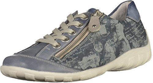 Sneakers Bleu Femme Basses Remonte R3435 AH7On
