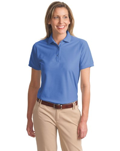 "Port Authority Ladies Silk Touchâ""¢ Polo. L500 (Ultramarine Blue) (2X-Large)"