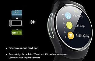 Excelvan KW18-4G Ajustable Smartwatch Smartphone Reloj Android iOS ...