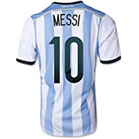 b54016a0c93 #10 MESSI Argentina Home 2014 World Cup Kid Soccer Jersey & Matching Short  Set (