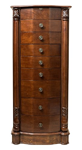 Antique Jewelry Armoires (Hives and Honey 'FLORENCE' Jewelry Armoire, Antique Walnut)