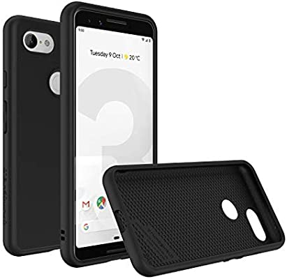 the latest e3fae fbb07 RhinoShield Case for Google Pixel 3 [SolidSuit] | Shock Absorbent Slim  Design Protective Cover with Premium Matte Finish [3.5M/11ft Drop  Protection] - ...