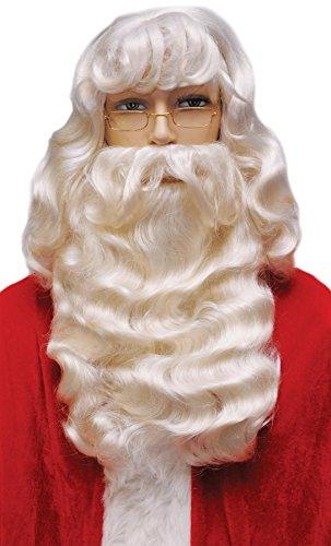 Lacey Wigs Santa Set 004 Supreme White