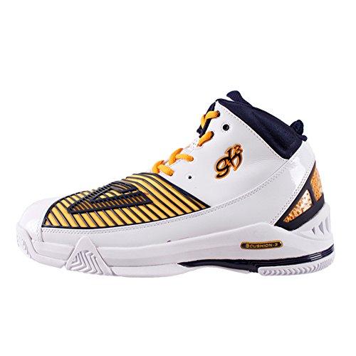 Picco Mens Nba Giocatore George Hill Scarpe Da Basket Moda Sneakers Bianco / Blu Marino