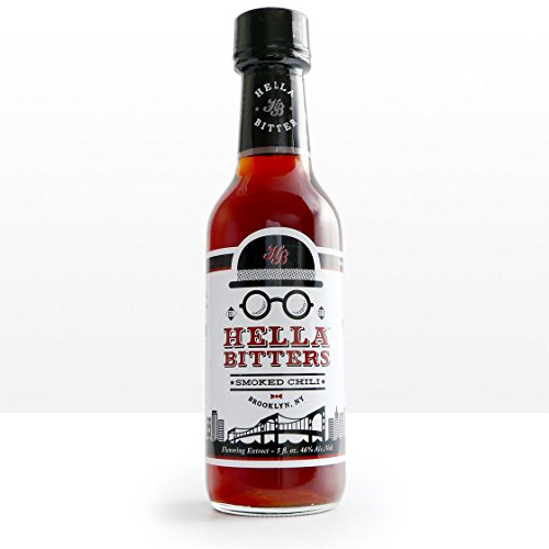 (Hella Cocktail Co. | Smoked Chili Bitters, 5 oz | Craft Cocktail Bitters Made with Real Dried Chilis and Whole Spices|Perfect for Holiday Cocktail Recipes)