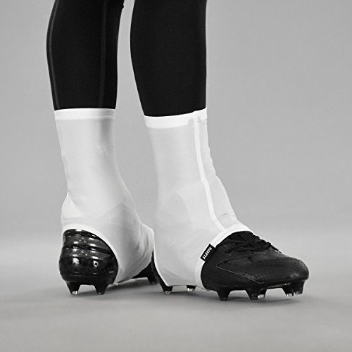 Basic White Spats/Cleat Covers -