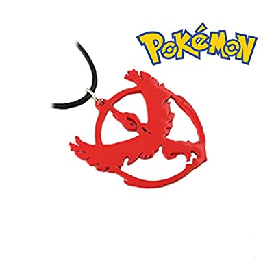 Pokemon Go Valor Necklace Pendant Game Anime Cosplay by Athena Brands from Athena