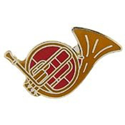 Superb Metal Lapel Pin   Music   Musical Instruments   Brass   French Horn