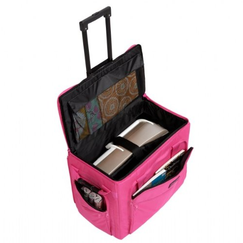 Creative Notions XL Sewing Machine Trolley in Pink by creative notions