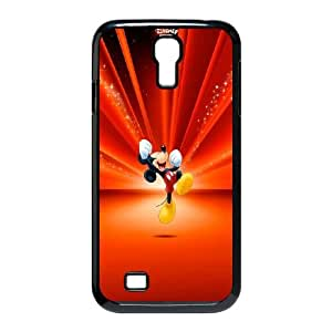 Samsung Galaxy S4 9500 Cell Phone Case Black Mickey Mouse 21 Dtdlb