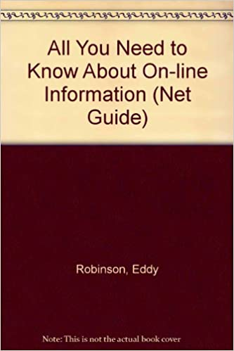 "Free to download ebooks All You Need to Know About On-line Information (""Net"" Guide) 1898275351 (Swedish Edition) iBook"