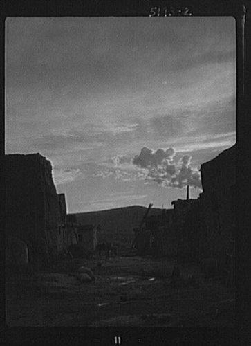 Photo: Acoma,New Mexico area view,pueblo,Southwest,Indians,buildings,Arnold Genthe,1899