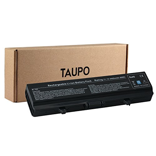 TAUPO New Notebook Battery Compatible with Dell Inspiron 1525 1526 1545 1546 PP29L PP41L Series Vostro 500 - fits P/N X284G M911 M911G GW240 RN873 GP952 RU586- [6cells,49Wh]- 12 Months Warranty