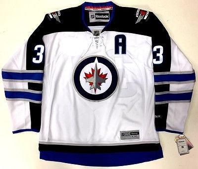 huge selection of b9326 b13f0 Dustin Byfuglien Winnipeg Jets Reebok Premier Away Jersey