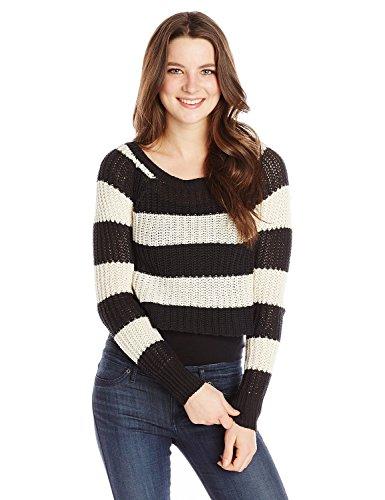 Billabong Juniors Cosmic Skies Sweater, Off Black, Medium