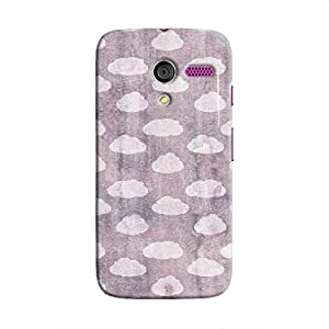 Cover It Up - Clouds Violet Sky Moto X Hard Case