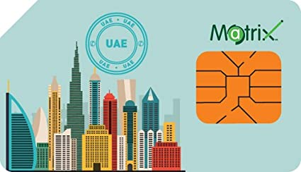 Generic Matrix UAE Prepaid SIM Card with Free Data: Amazon in