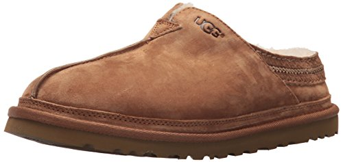UGG Men's Neuman Clog, Chestnut, 9 M US ()