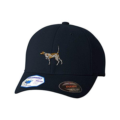 German Shorthaired Pointer Hat - German Shorthaired Pointer Flexfit Adult Pro-Formance Hat Dark Navy Large/X-Large