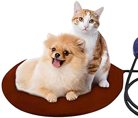 Met Safety Listed Pet Sleeping Cushion Mat Small Dog Cat Warming Mat Indoor Waterproof Electric Blanket Atezch Pet Heating Pad
