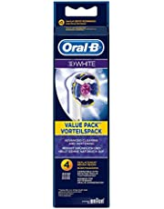 OralB 3D White 4 Replacement Brush Heads