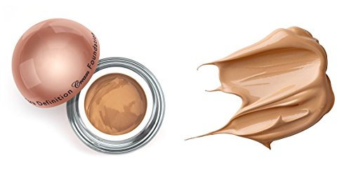 LA-Splash Ultra Defined Cream Foundation (with free Sleek Facial Sheet Mask) (Nutmeg / 1oz (Nutmeg Sheet)