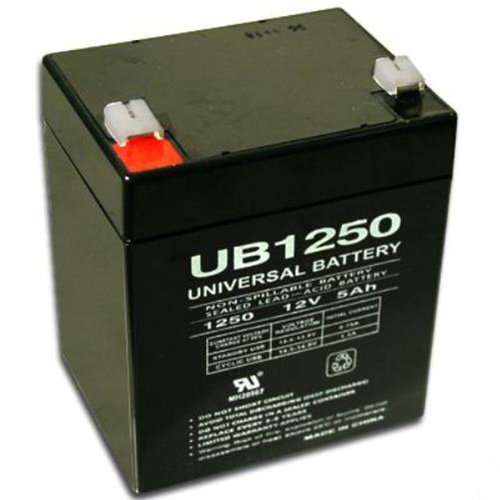 12 volt 5ah battery - 8