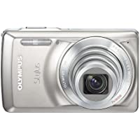 Olympus Stylus 7030 14 MP Digital Camera with 7x Wide Angle Dual Image Stabilized Zoom and 2.7-Inch LCD (Titanium) (Old Model) At A Glance Review Image