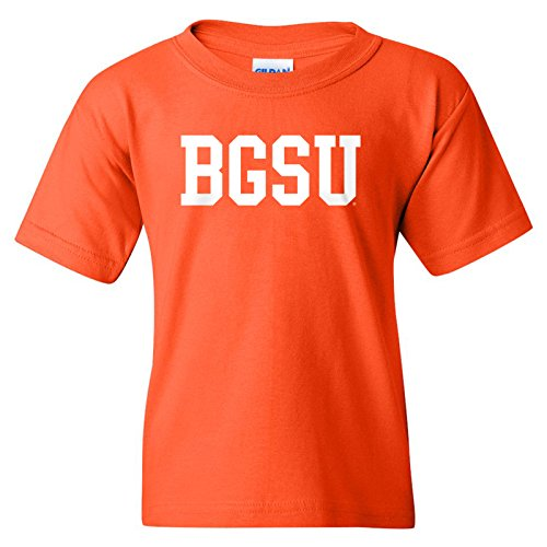 University Falcon Basic Block Youth T-Shirt - Medium - Orange ()