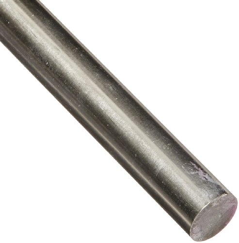 625 Nickel Round Rod, Unpolished (Mill) Finish, AMS 5666, 1'' Diameter, 12'' Length by Small Parts