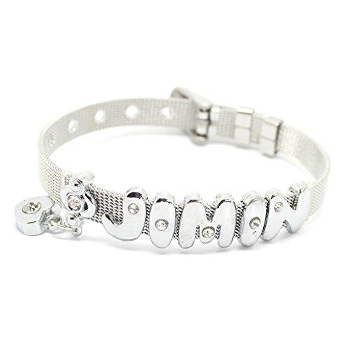 Fanstown BTS Kpop Bangtan Boys Letters Member Nmae Handmade Titanium Bracelet