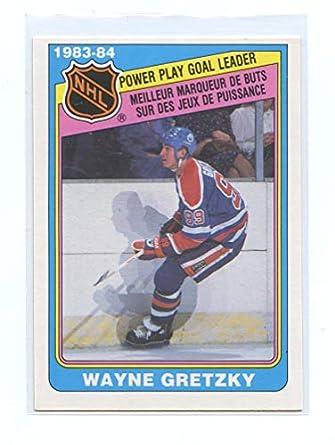 932ba7640 1984-85 O-Pee-Chee  388 Wayne Gretzky Edmonton Oilers Goal Leader ...