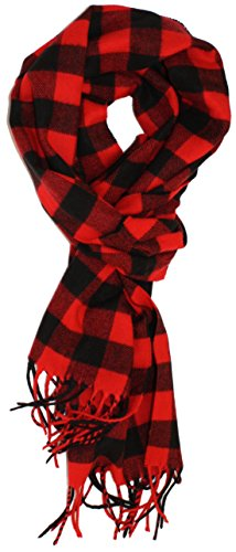 Ted and Jack - Jack's Classic Cashmere Feel Buffalo Check Scarf