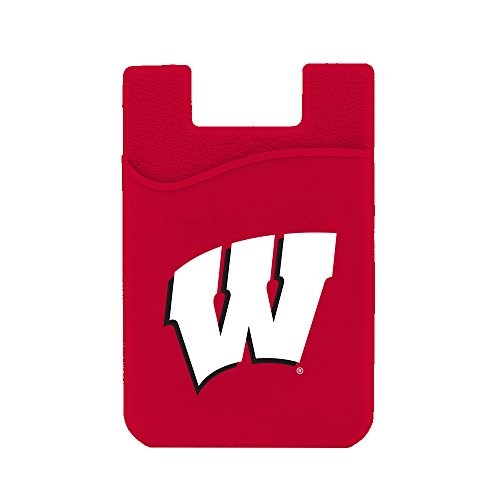 Guard Dog Card Keeper/Card Holder Silicone Phone Wallet (Wisconsin -