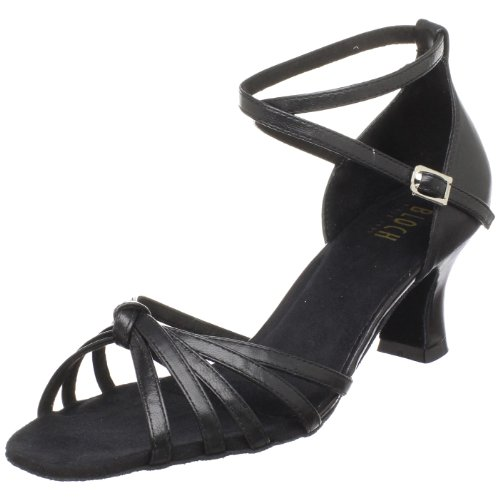 [Bloch Women's Sienna Ballroom Shoe,Black,6.5 X(Medium) US] (Ballroom Costume For Men)