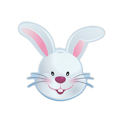 Refrigerator Magnet - Easter Bunny (Happy Easter) - Bunny Shaped Magnet - 5