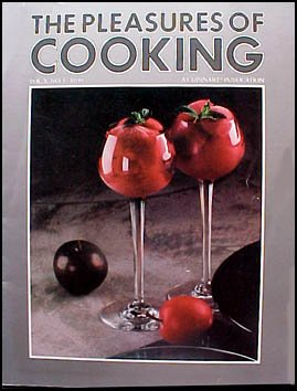 The Pleasures of Cooking July/August 1987 Sumatra and Ambon Cuisine, Pan Cookies, Plums, Mirabelle restaurant